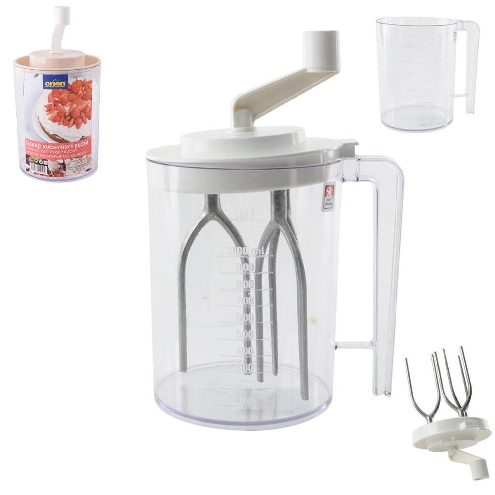 ORION domácí potřeby Šlehač plast/kov kuchyňský ruční