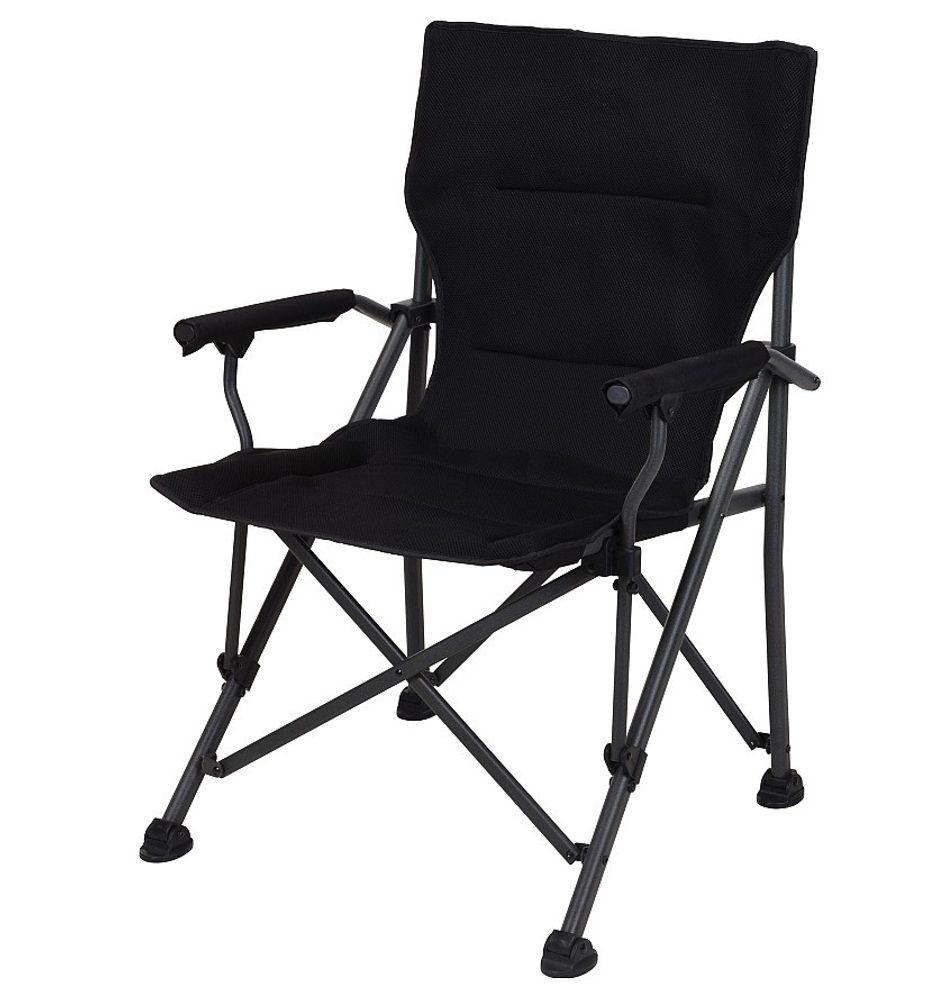 Levně ProGarden Židle campingová REDCLIFFS skládací černá