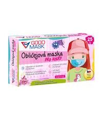 Surgical masks for girls, box of 10 units
