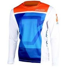 MX jersey kids YOKO KISA blue / orange L