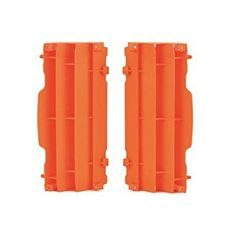 Radiator louvers POLISPORT orange KTM