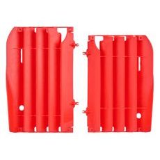 Radiator louvers POLISPORT red CR 04