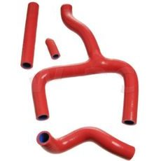 Set of silicone water cooling hoses MOTION STUFF Red 4 pcs M690-501R