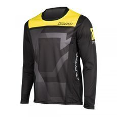 MX jersey kids YOKO KISA black / yellow S