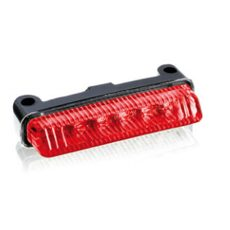 Brake rear light PUIG TT (75 x 15 mm) 4602R red lens