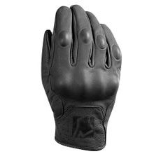 Short leather gloves YOKO STADI black XS (6)