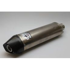 Silencer MIVV STRONGER Stainless Steel / Carbon Cap without mounting kit