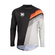 MX jersey YOKO VIILEE black / white / orange XXL