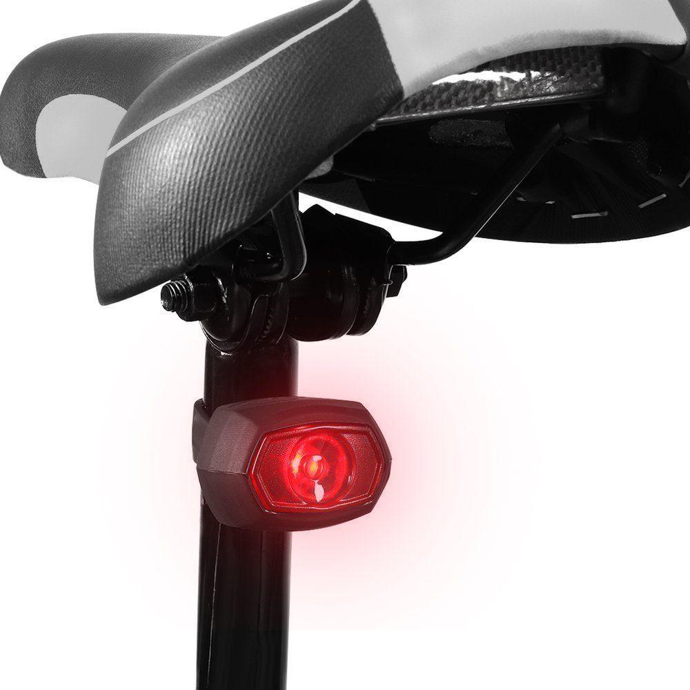Wozinsky zadní micro USB světlo na kolo, černé (WRBLB1)