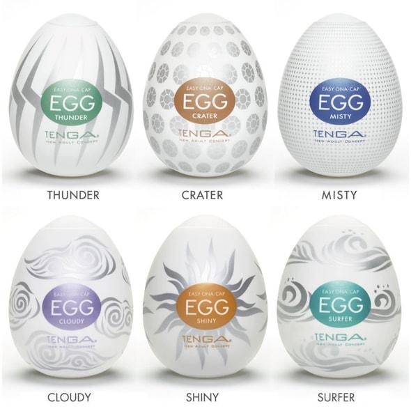 Tenga Egg 6 Styles Pack