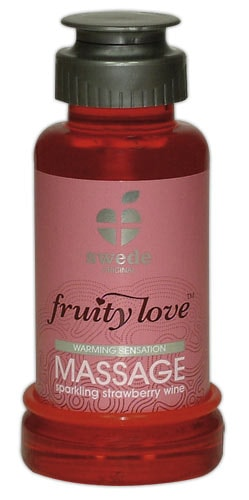 Swede Fruity Love Massage Strawberry Wine 100ml