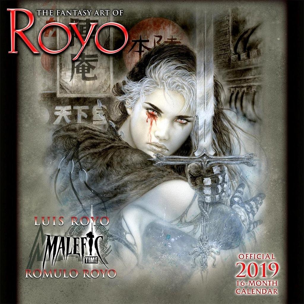 FANTASY ART OF ROYO - 2019 CALENDAR