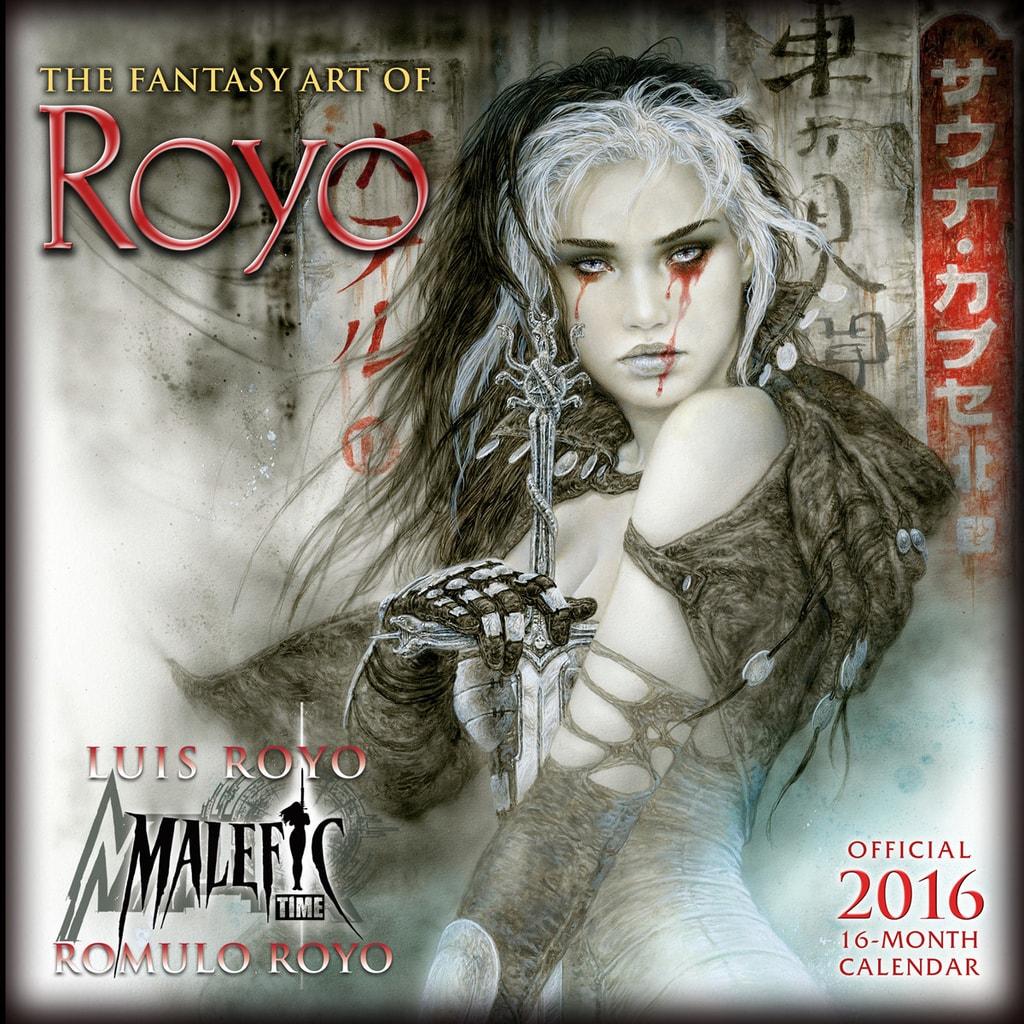 FANTASY ART OF ROYO - 2016 CALENDAR
