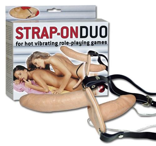 Strap - On Duo Vibro