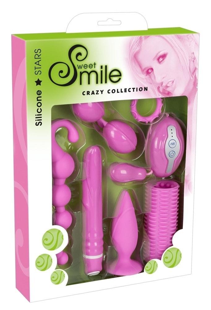 Smile Crazy Collection Sada erotických pomôcok 7 dielov