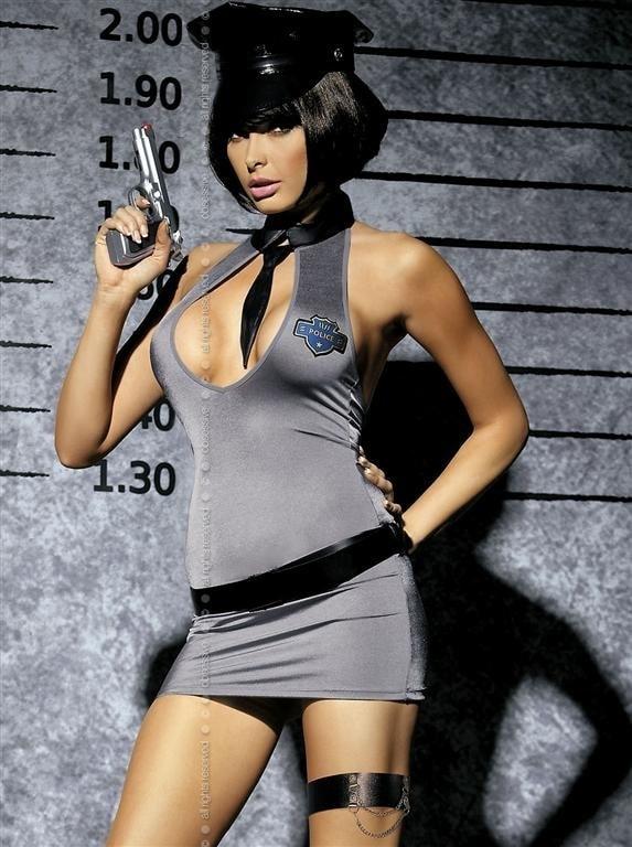 Sexy kostým Obsessive Police dress XXL
