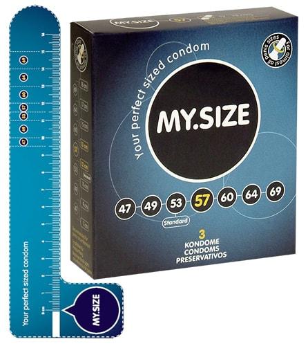Kondomy My Size 18 cm, 5,7 cm