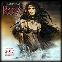 FANTASY ART OF ROYO - 2017 CALENDAR