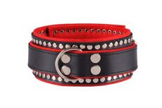 Collar decorated black / red