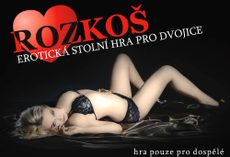 Erotic game for adults - ROZKOŠ