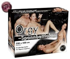PVC Orgy-Sheet black