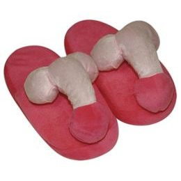 Slippers with pindiks