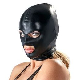 Bad Kitty Mask Kopfmaske schwarz