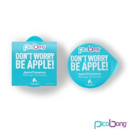 Massage candle PicoBong - apple / cinnamon
