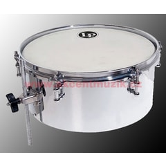 "Latin Percussion Drumset Timbales, 13×5,5"" Chrome"