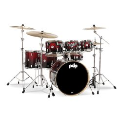 PDP Concept Maple - Red to Black Sparkle