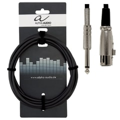 Alpha Audio Basic Line, 6 m, kabel pro mikrofon