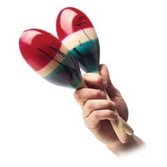 Latin Percussion CP Wood Maracas, Large