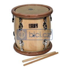 Latin Percussion Tambora Natural Wood, Wood Rim