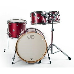 DW Design bicí sada Deep Cherry Satin