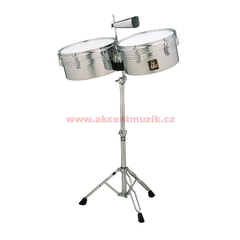 "Latin Percussion Aspire Timbales 13"" & 14"" Chrome"