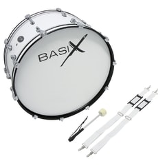Basix Marching Bass Drum 24""