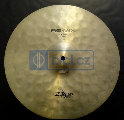 Pronájem činelu Zildjian Sound Effects RE-MIX crash 14""