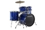 Ludwig LC17519 New Accent Drive Deep Blue